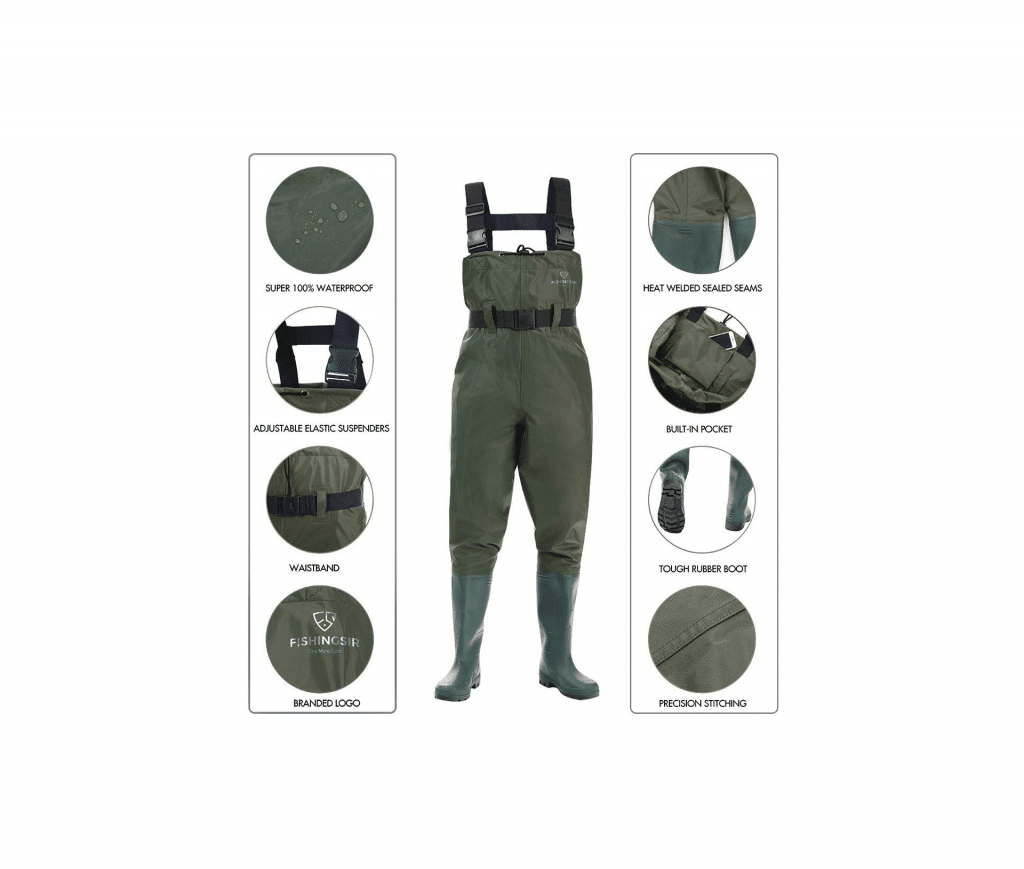 FISHINGSIR Fishing Chest Waders