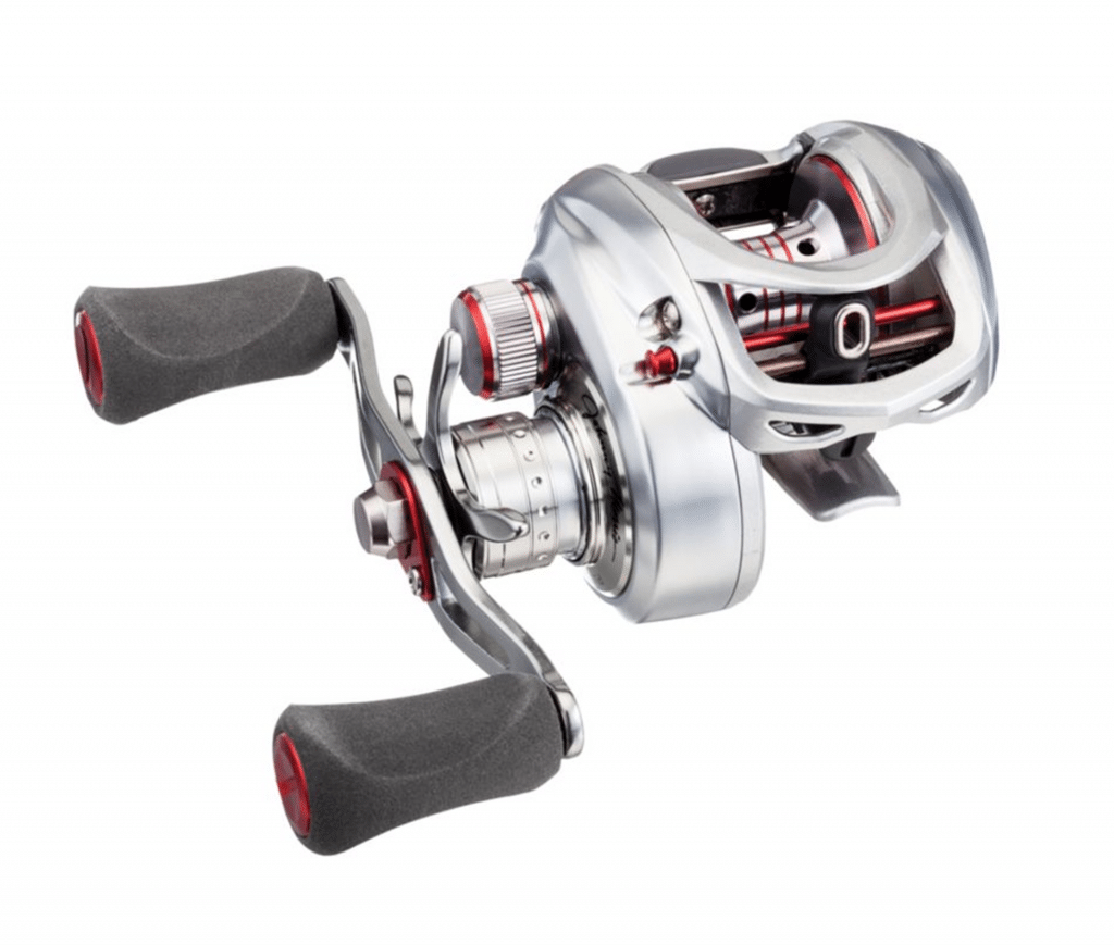 Johnny Morris platinum signature baitcast reel