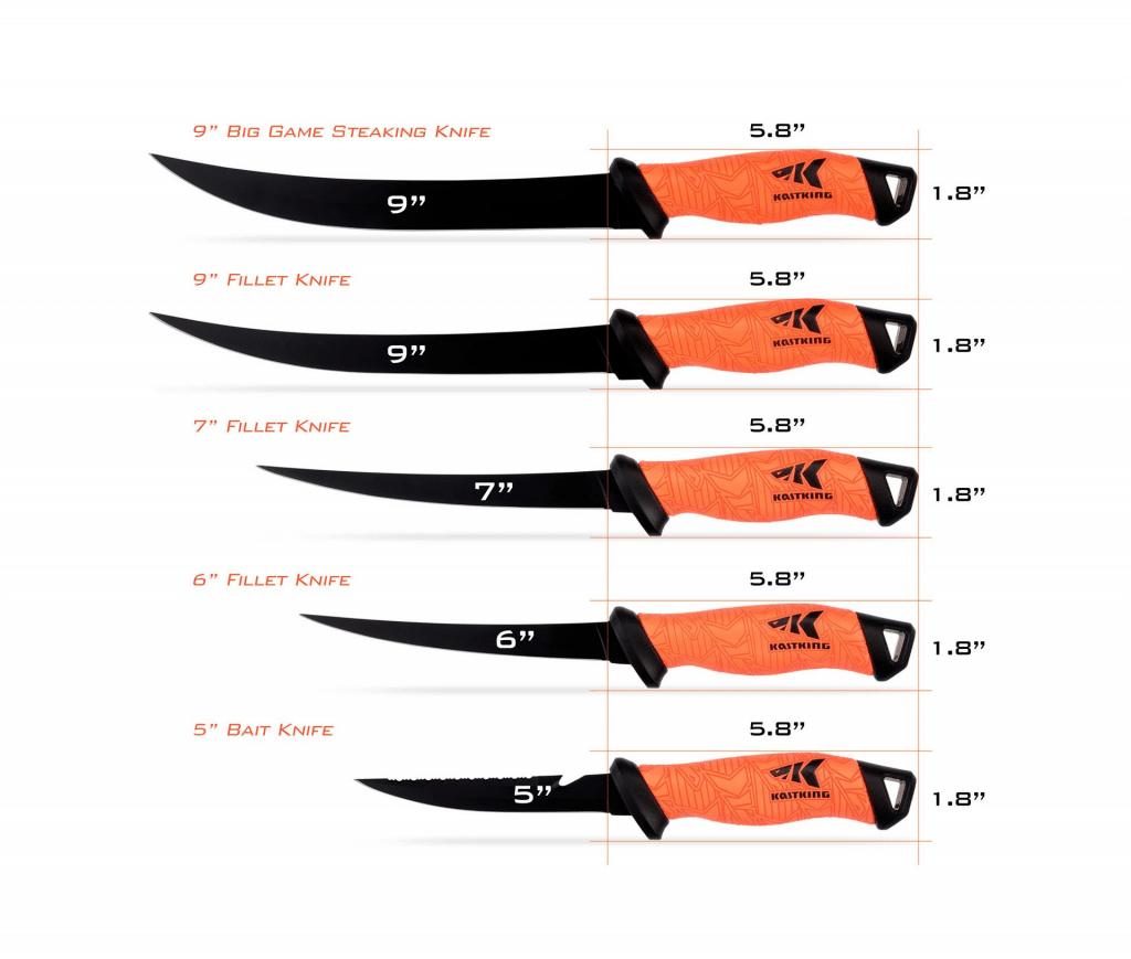 KastKing Fillet Knife 9 Inch 2019