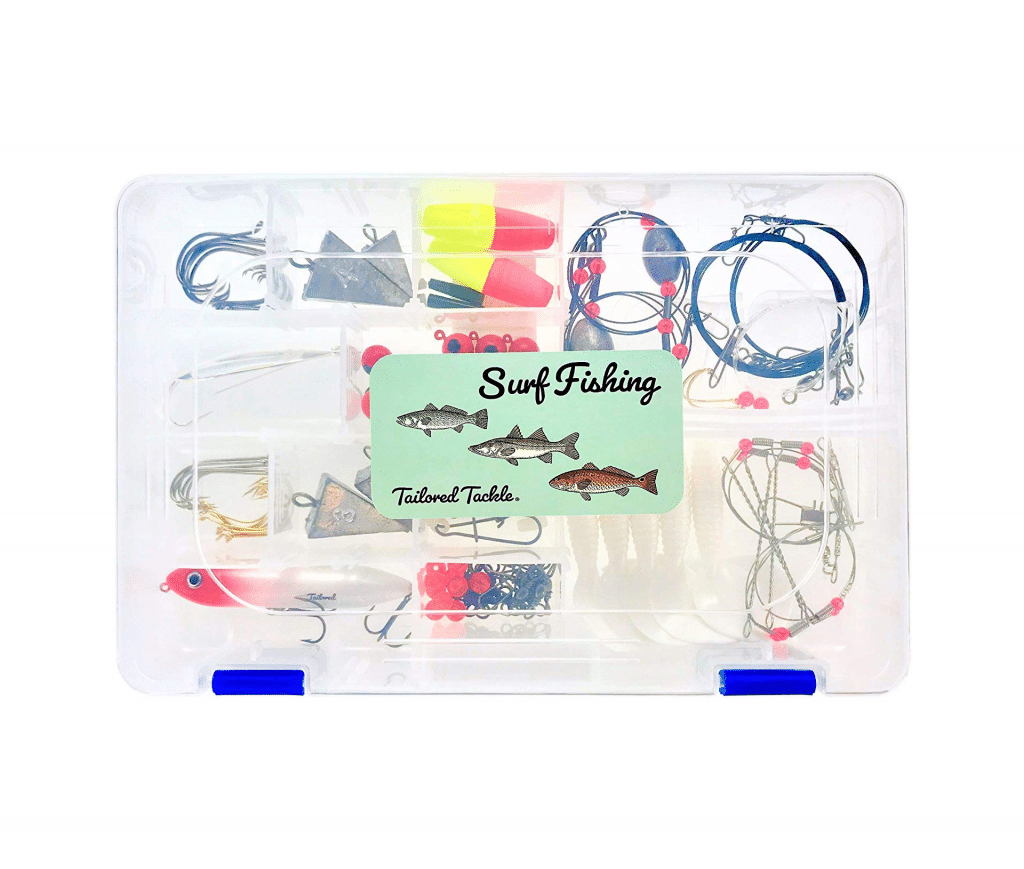 Tailored Tackle Saltwater Surf Fishing Kit 82 Pc