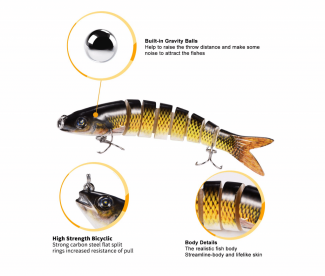 Yagool fishing lures for trout