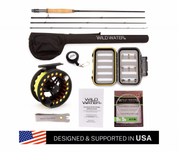 Wild Water fly fishing complete 56 starter package